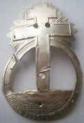 Russia Pin Badge Union Russian 1905 1917 Black Hundred Ww1 Wwi Sterling Silver