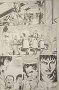 The Punisher Original Comic Book Art Issue 100 Page 33