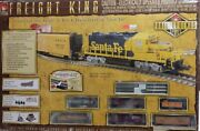 New Life-like N Scale Union Pacific Freight King Train Set Rail Legends Series