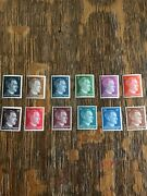 Mnh Stamp Set / 12 Adolph Hitler Stamps Wwii Germany