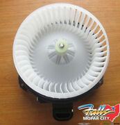 2014-2019 Ram 1500 2019 Old Body A/c And Heater Blower Motor W/resistor New Oem
