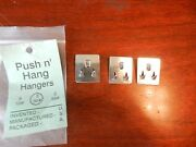 Push Nand039 Hang Hangers Push And Hang 1 Package Of 3 For 30 Pound Pictures