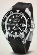 Seculus Menand039s Royal Marine Automatic Watch // 3441.7.2824_sil_ss_b