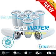 Zerowater Replacement Water Filter Cartridge 8-pack