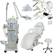17 In 1 Microdermabrasion Facial Machine Electric Bed Beauty Salon Equipment