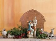 The Holy Family Nativity Small Complete Figurine Willow Tree Susan Lordi