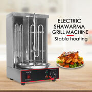 Electric Shawarma Grill Barbecues Grills Tabletop Kebab Gyro Grill Rotisserie