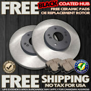 O0072 Fit 1998 1999 Acura Cl 2.3l 4cylinder Front Brake Rotors Ceramic Pads