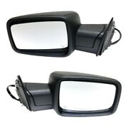 Set Of 2 Mirrors Left-and-right Heated Lh And Rh For Ram 1500 2500 Classic 19 Pair