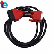 For Solus Ultra Scanner Eesc318 6' Obdii Obd2 Cable Compatible With Snap On Da-4