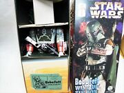Star Wars Boba Fett Wind Up Tin Toy From Japan