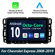 Android 10 8 Lcd Car Stereo Gps Navigation Touchscreen For Chevrolet Avalanche