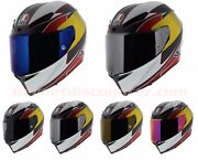 Agv Corsa R Supersport Blue Red Bull Carbon Motorcycle Helmet Free Ship And Visor