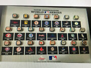 2018 Coors Light Mlb World Series Collector Rings Set With Display Case