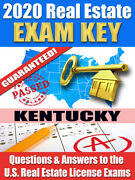 2020 Kentucky Psi Real Estate Exam Prep Study Guide Questions And Answers [cd-rom]