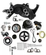 Holley 20-191bk Holley Premium Mid-mount Ls7 Race Accessory System- Black Finish