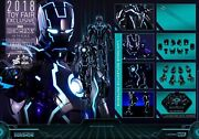 Us Hot Toys 1/6 Marvel Mms485d24 Neon Tech Iron Man Mk4 Mark Iv Sdcc Exclusive