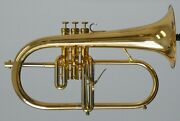 New Adams Sonic Flugelhorn In Gold Lacquer