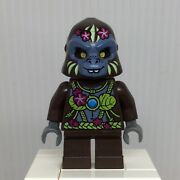Lego Legends Of Chima Loc036 G'loona Minifigure Gorilla Girl From 70008