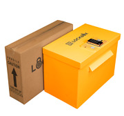 Qr Lockbox Safe Smart Package Delivery Box With Secure Digital Lock