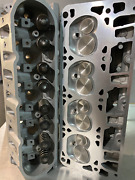 Cnc Ported Ls1/ls6 243/799 Cylinder Heads .650 Springs 2.02/1.59 Valves Pair