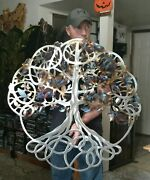 Metal Tree Wall Art Tree Of Life Cottage Country Kitchen Decor Gift Idea Art