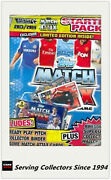 2013-14 Match Attax Card Game Collectors Card Album Pages + Bonus Pack X 10