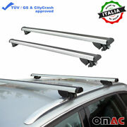 Roof Rack Cross Bars Luggage Carrier Silver Fits Bmw X5 - G05 2019-2021