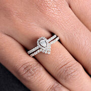 Solid 18k Rose Gold Pave Natural Diamond Statement Ring Fine Jewelry New Arrival