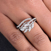 Natural Diamond Pave Solid 18 K White Gold Ring Designer Jewelry New Collection