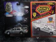 2 Rhode Island Police Cars 1 Providence P .d. 1 State Police W Pin Both Road Ch