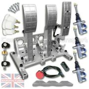 Floor Mounted Hyd Ap Pedal Box 100 Made From Billet Aluminium
