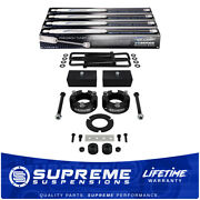 3 Front 2 Rear Lift Kit For 95-04 Toyota Tacoma W/ Lean Fix +diff Drop +shocks