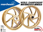 Marchesini Wheels Bmw Hp4 7-spoke Rims Front And Rear Set