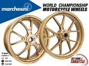 Marchesini Wheels Honda Cbr 1000rr 08-16 10-spoke Rims Front And Rear Set
