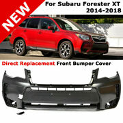 For 14-18 Subaru Forester Xt   2.0 Turbo Direct Replacement Front Bumper Cover