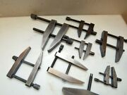 1 Lot Of Starrett And Others Toolmakers Clamps Inv.40062