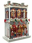 """21.5"""" Extremely Rare Mr. Christmas Dillard's Department Store Animated Village"""