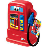 Little Tikes Cozy Pumper Kids Gas Station Pump Electronic Toy Pretend Play Red