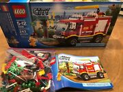 Lego City 4x4 Fire Truck 4208 100 Complete