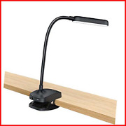 Desk Lamp Clip On Light-7w 2600mah Flexible Gooseneck Battery Operated Reading And