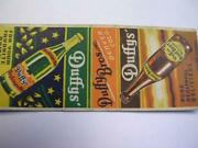 1930's Duffy's Root Beer And Dry Ginger Ale Duffy Bros Denver Co Matchcover 2 Of 2