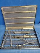 Songer Surgical Cable System Instrument Set W/ Tray Orthopedic