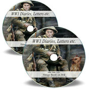 World War 1 True Life Stories Books On 2 Cds - Ww1 Diary Pow Letters Escape M4