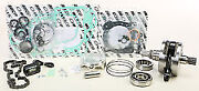 Ktm 125 Sx Sxs And03901 Wiseco Complete Engine Rebuild Kit W/ Hour Meter Pwr153-100