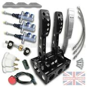 Compbrake Pedal Box To Fit Nissan 200sx Floor Mounted Hydraulic Pedal Box Kit
