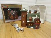 Dickens Collectables Classic Series Porcelain House 354-9607 New Cord And Bulb