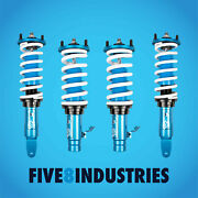 For 96-00 Honda Civic Ek | Five8 Industries Height Adjustable Coilovers Kits