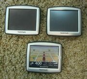 Lot Of Three Tom Tom One N14644 Gps Units, All In Good Working Condition