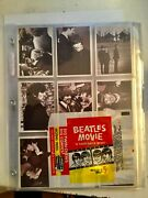 1964 Beatles Hard Days Night Cards Rare Set With Wrapper